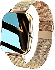 Zodvboz Smartwatch Bluetooth Atender Chamada Relógio Inteligente Mulheres Homens Full Touch Dial Call Fitness