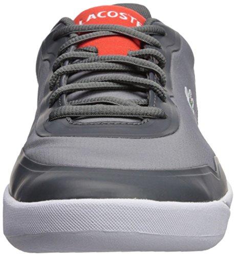 Sneaker Lacoste Mens Lt Spirit 417 1 Grigio Scuro / Rosso