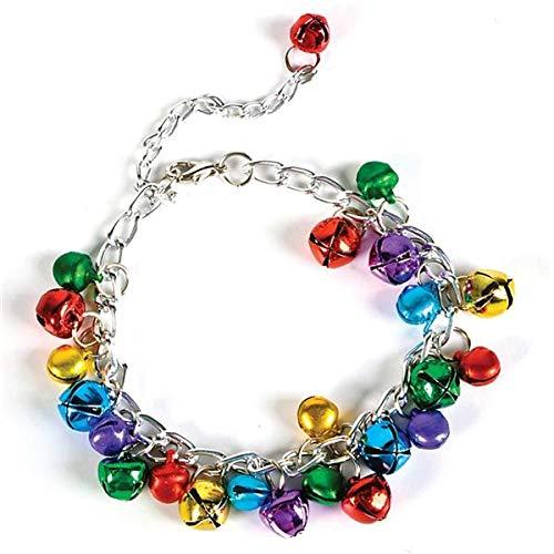 Jingle Stocking - Rhode Island Novelty Holiday Bracelet with Bells | 1 Per Order