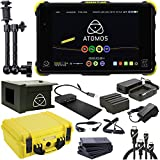 Atomos Shogun Flame Kit (includes 7-inch 10-bit AtomHDR 1500nit Field Monitor plus full accessories), Articulating Magic Arm, HDMI A-C and HDMI A-D BASIC 3' Cables