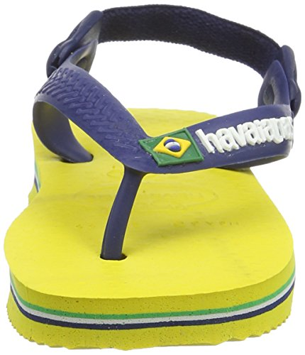 Sandali Unisex Baby Havaianas Logo Brasil qvanw4Rtn