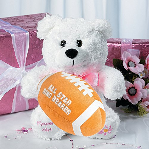 (Fun Express Ring Bearer Football And Flower Girl Bear Set)