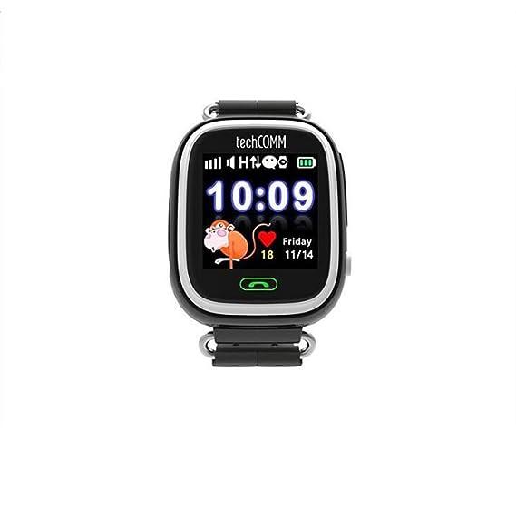 Smart Watch Kids Watch Reloj GPS + Tarjeta WiFi Monitoreo De Salud del Teléfono Móvil,