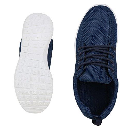 Sportschuhe Herren Profilsohle Schnüren napoli Damen Blue Unisex Jennika Sneakers Flache Laufschuhe Dark fashion Freizeitschuhe qxxnpwB