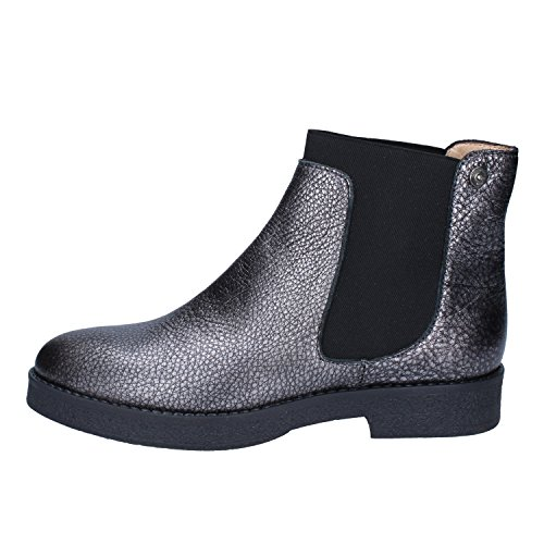 Leather 38 Boots Liu Ankle Jo Womens EU Grey wAv08pq