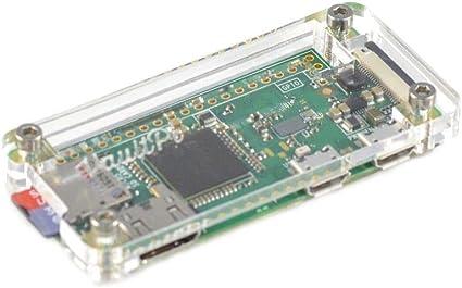 XZW AN Caja de acrílico Transparente for Raspberry Pi Zero W & Zero Kit Arduino Frambuesa Pi: Amazon.es: Electrónica