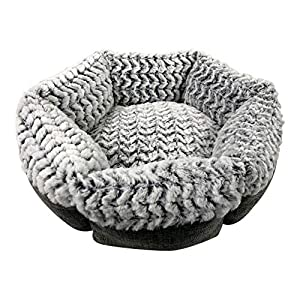 Pet Craft Supply Co. Round Machine Washable Memory Foam Comfortable Ultra Soft All Season Self Warming Cat & Dog Bed 9