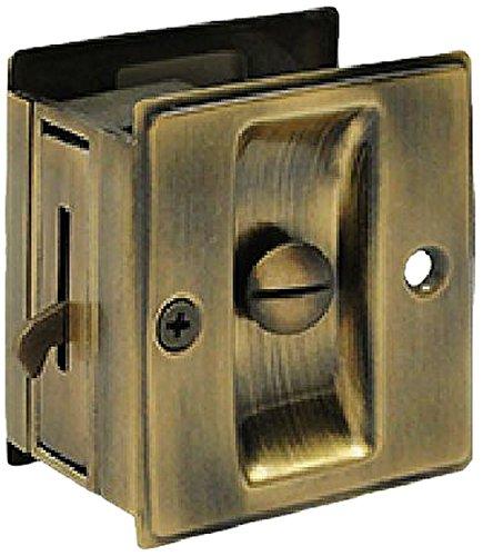 Deltana SDL25U5 2 1/2-Inch x 2 3/4-Inch Privacy Pocket Locks