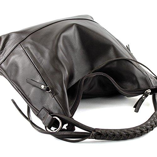 Made pour femme à porter à l'épaule Sac Dunkelbraun Italy FnWwqzFH