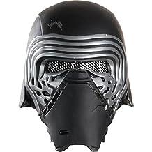 Star Wars Episode VII: The Force Awakens Adult Kylo Ren Half Helmet, Multi, One Size
