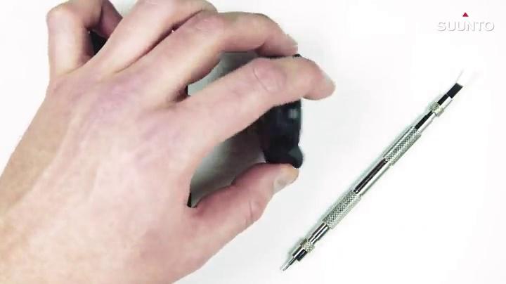 Suunto Watch Strap, 24mm, Silicone, Sandstone Gray- Explore, M: 130-230 mm