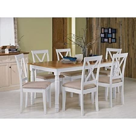 Heart Of House Ellingham Dining Table And 6 Chairs