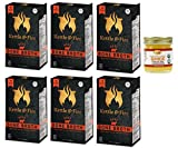 Kettle & Fire - 6 Organic Beef Bone Broths with Pure Traditions ghee - ( 6 Beef Broth 16.2 oz with one 1.25 oz ghee)