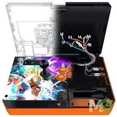 Razer Panthera Dragon Ball Fighter Z: Totalmente Mod-Capable - Palanca de mando y botones Sanwa - Compartimento de almacenamiento interno - Torneo Arcade Stick para PS4 y PC: Amazon.com.mx: Videojuegos