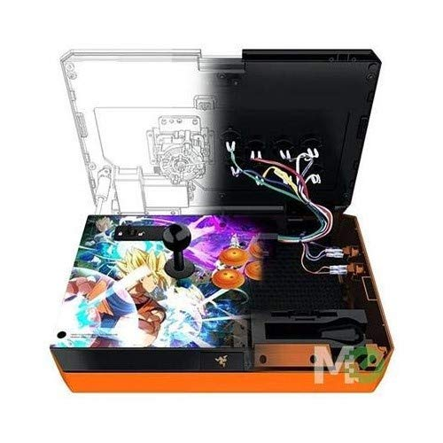 Razer Panthera Dragon Ball Fighter Z: Fully Mod-Capable - Sanwa Joystick  and Buttons - Internal Storage Compartment - Tournament Arcade Stick for  PS4