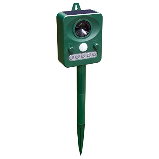 Animal Pest Repellent, Soeland Outdoor Solar Electronic Ultrasonic Repeller,Animals Control, Pest Control, Dog and Cat Repellent,Birds Repellent, Raccoons Repellent, Rats, Home and Garden Protection