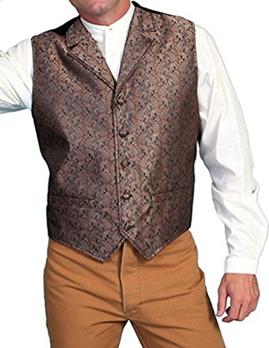 (Scully RW129XX Mens Classic Vest, Brown -)