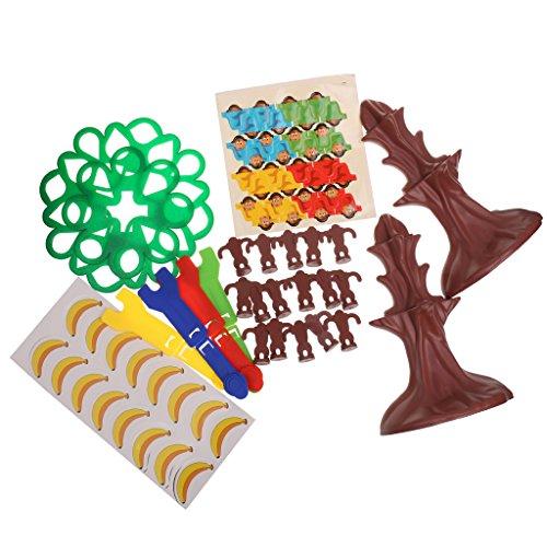 Lovoski ジャンプサル ツリーを 飛行サル バナナを獲得ゲーム 教育玩具 キッズ 楽しい 贈り物