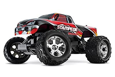 Traxxas Rtr 110 Stampede With Water Proof Xl-5 And 7 Cell Battery With Charger Colors May Vary from HRPA - Traxxas