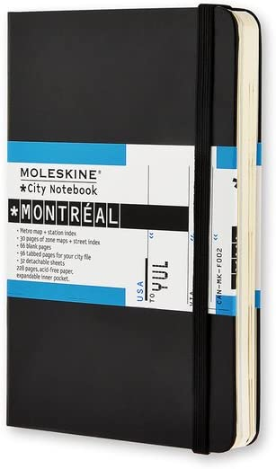 Moleskine City Notebook Montreal