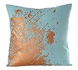 Gitika Goyal Home CCLMOBLBZ Textures in Metal - 20'' Cushion Cover