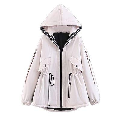 KCatsy Mujer Plus Size Abrigo Casaca Parka Chaquetas Puffer ...