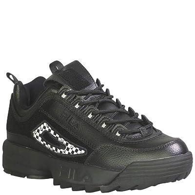 Fila Men's Disruptor 2 Patches Fashion Sneakers Black/Fora/Pdrb 11   Fashion Sneakers