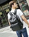 BAOSHA BP-08 Unisex PU Leather Computer Laptop Bag