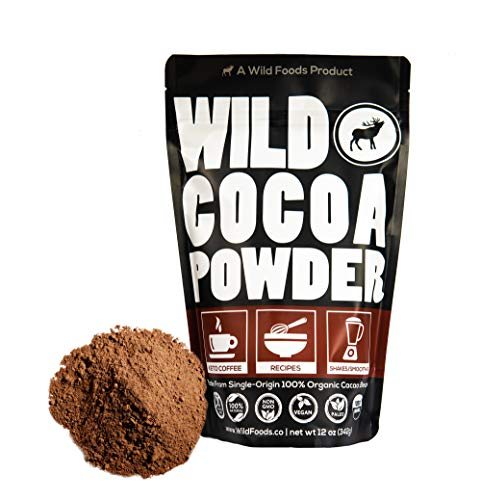 Raw Organic Cacao Powder, Handcrafted, Single-Origin, Fair Trade, Non-Alkalized Cocoa from Peru (24 ounce)