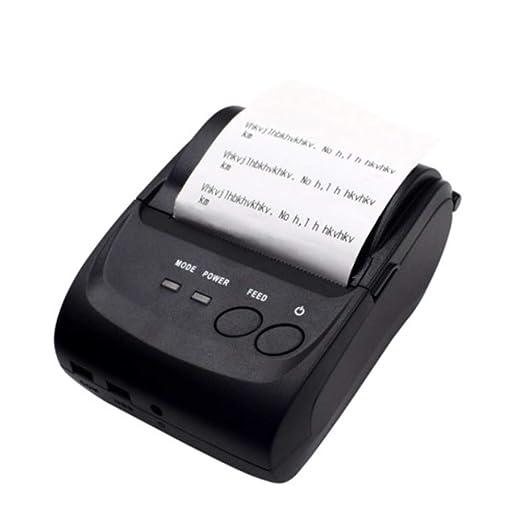 YWT Impresora térmica inalámbrica de Recibos Bluetooth ...