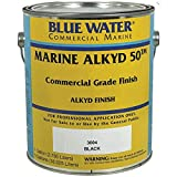 Blue Water Commercial Marine Paint - Marine Alkyd 50-1 Gallon (Gloss, Safety SC Yellow)