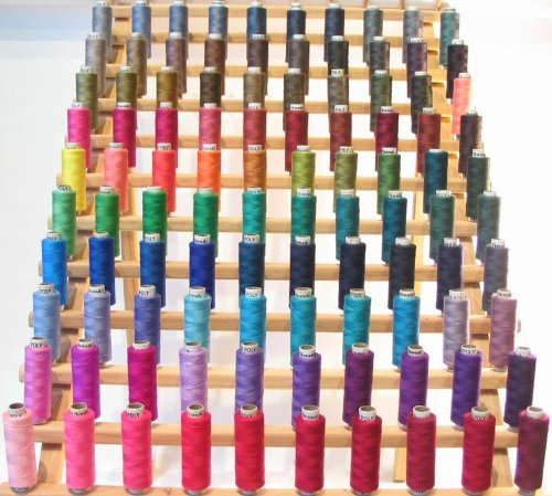 New ThreadNanny 200 Spools of Polyester sewing quilting thread - Assorted Colors by ThreadNanny