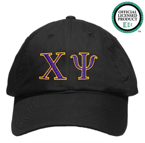 Chi Psi (Lodge) Embroidered Nike Golf Hat, Various Colors