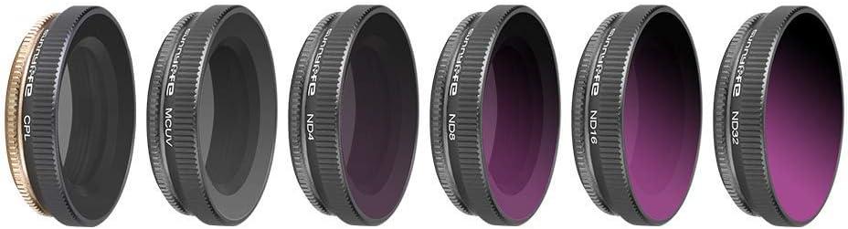 Honbobo Lens Filter UV CPL ND ND-PL Filter for DJI Osmo Action
