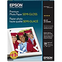 PAPER, PREMIUM SEMIGLOSS PHOTO, Electronic Computer