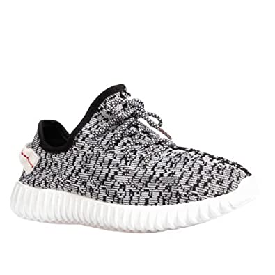 best website 6f944 6e9c3 Mens Boys Gym Fitness Running Sports Yeezy Inspired Trainers Boost Shoes  Size 3-12