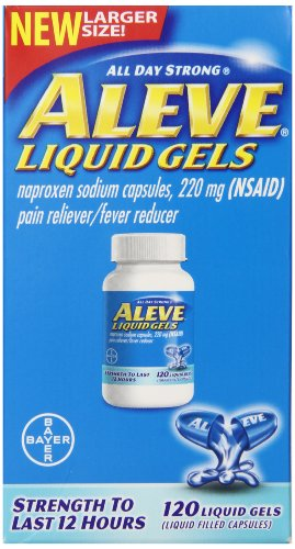 Aleve Liquid Gels 120 Count product image
