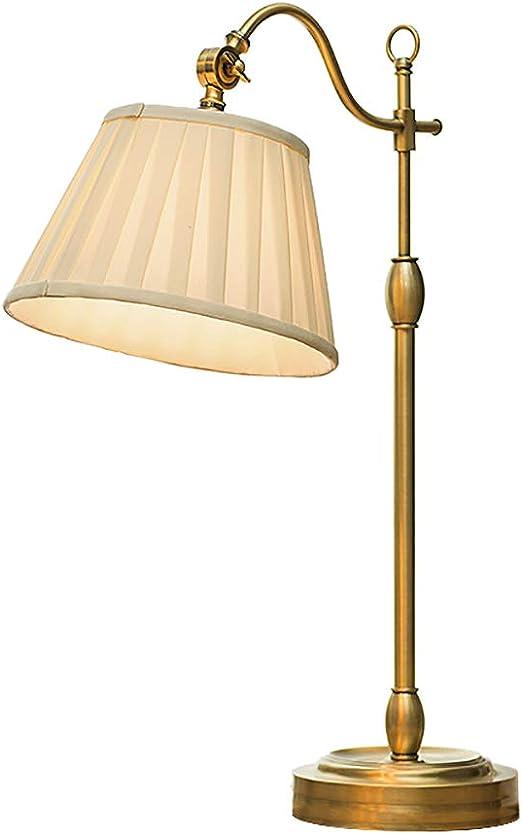 Lampe de table en laiton vintage Interrupteur de prise de 1