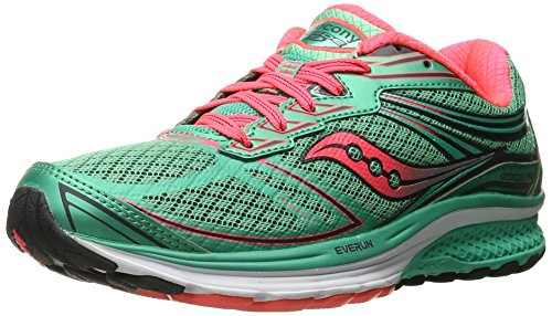Coral W Femme de 9 Course Chaussures Saucony Guide Teal 4wvqE48