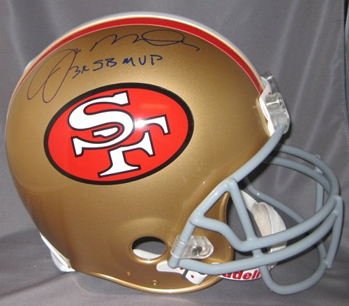 Joe Montana Autographed 49ers Proline Helmet 3X SB MVP