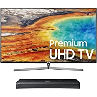 Samsung UN55MU9000 55 4K UHD Smart TV with UBD-M9500 4K Ultra HD Blu-ray Player