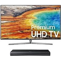 Samsung UN55MU9000 55 4K UHD Smart TV with UBD-M9500 4K Ultra HD Blu-ray Player