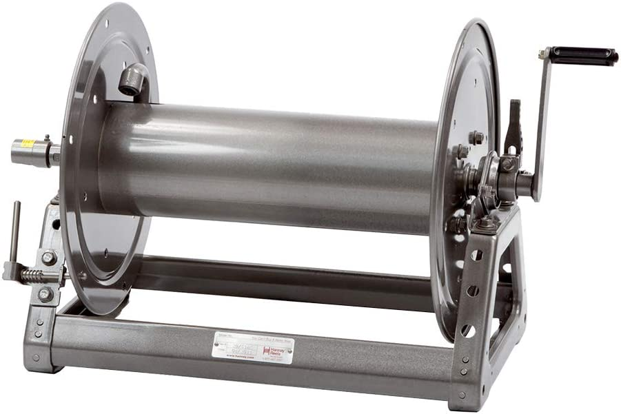 Hannay Reels 1526-17-18 Series 1500 Hand Crank Rewind Hose Reel 1//2 x 300 Hose Capacity 3000 PSI