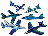 Foam Gliders - Assorted Colors And Styles (Bulk Pack Of 48 Glider Planes)