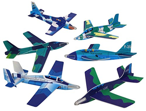 (Foam Gliders - Assorted Colors and Styles (Bulk Pack of 48 Glider Planes))
