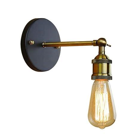 Oyi Retro Wall Sconce Brass Bathroom Lighting Fixtures Vintage