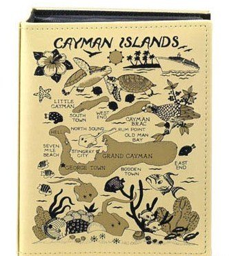 Cayman Islands Embossed Photo Album 100 Photos / 4x6
