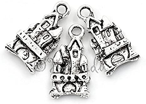 Wholesale Antique Silver Plated Charms Pendants Great for DIY Jewelry Making