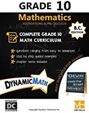 Dynamic Math Workbook - Complete Grade 10 Mathematics Curriculum (BC Edition)