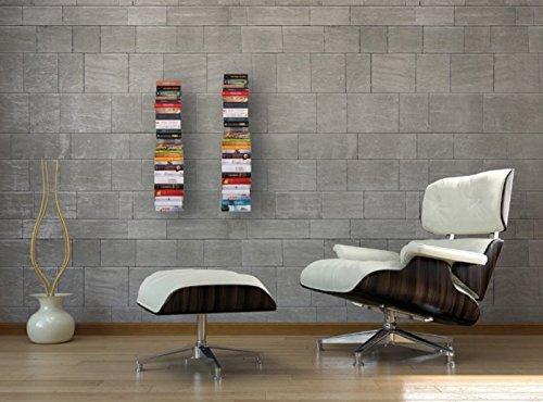 Mensole Per Libri Design.Ve Ca S R L 2 2 Reggilibri Invisibile Libreria Mensola Design